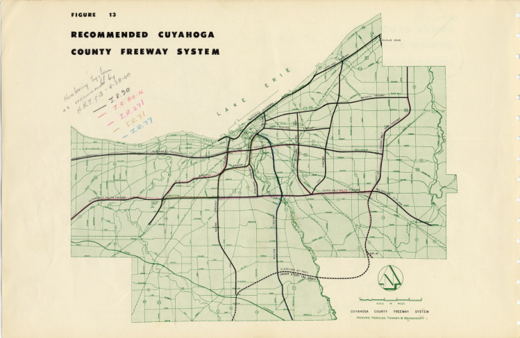 Freeway System Proposed 1957