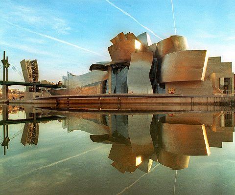 Frank Gehry's Guggenhiem in Bilbao