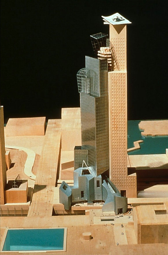 Proposed Progressive Headquarters Frank Gehry